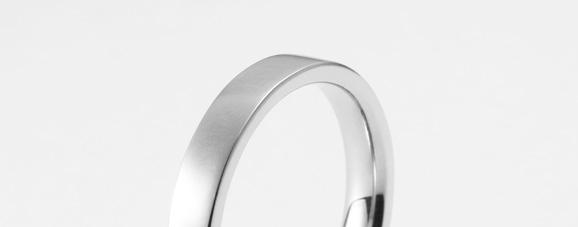 平打ち指輪